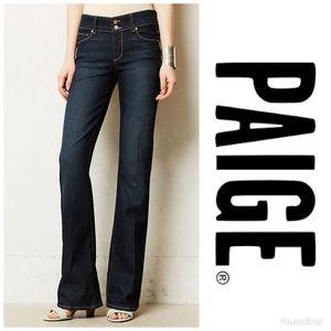 PAIGE Hidden Hills Boot Cut Jeans size 28